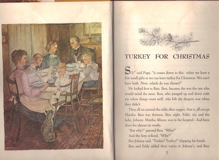 Turkey for Christmas, Marguerite De Angeli